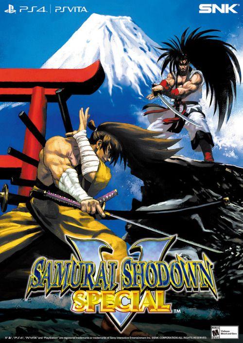 Arcade Legend Samurai Shodown V Special Coming to PS4 Vita