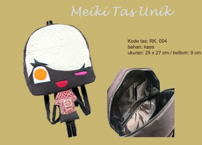 Backpack Unik kain perca - RK. 004