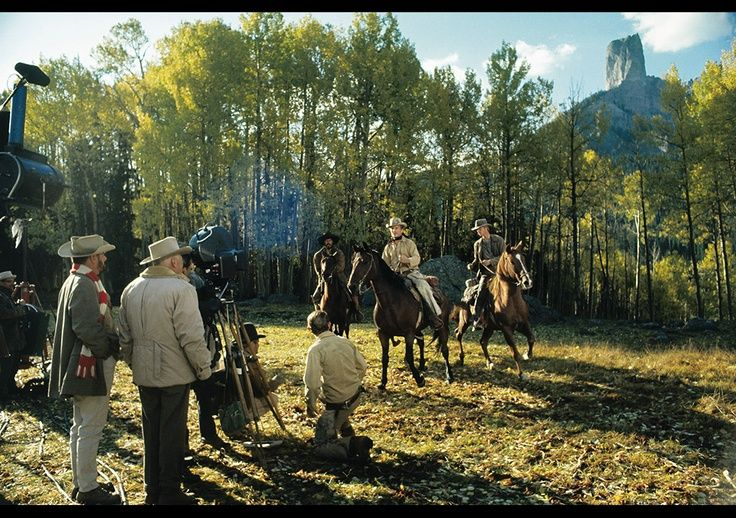 True Grit location deb's meadow, 1969 with John Wayne