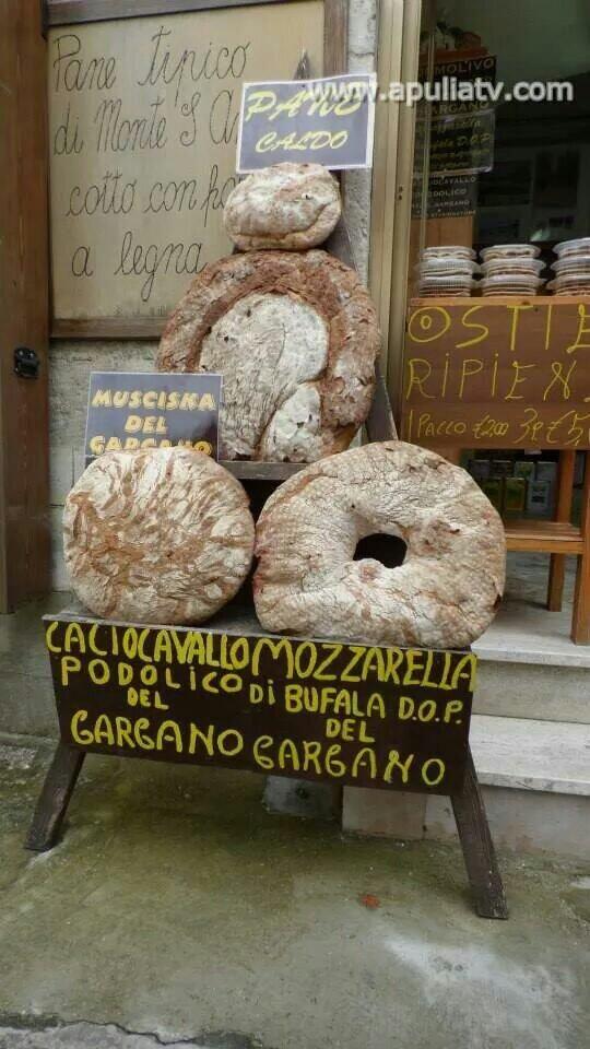 Da non perdere in #Puglia il #pane di #Monte #Sant'Angelo