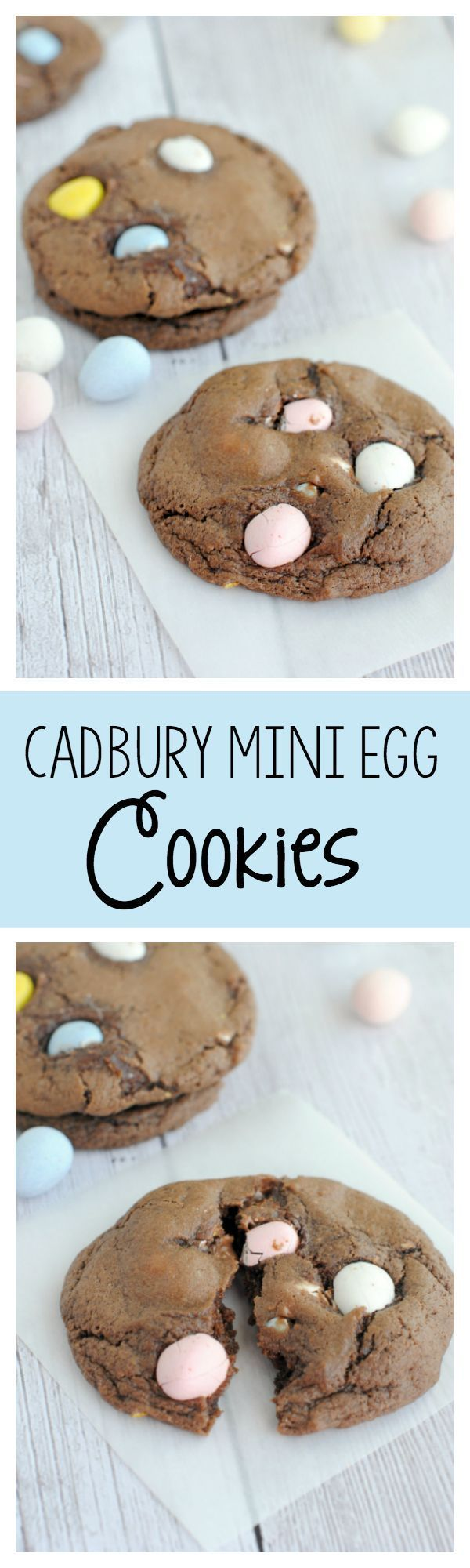 YUM! Cadbury Mini Egg Cookies!