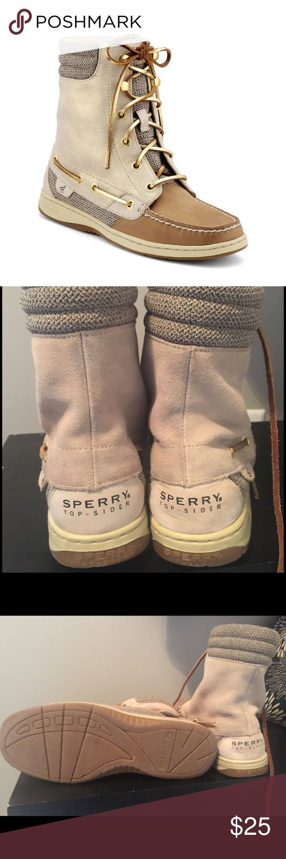 Sperry Top Slider Boots Sperry boots Great condition Sperry Top-Sider Shoes Ankle Boots & Booties