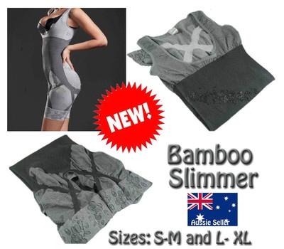NEW Natural Bamboo Slimming Shaper Full Body Suit: Stay Young, Bamboo Slimming, Natural Bamboo, Full Body, Shaper Full, Body Suits