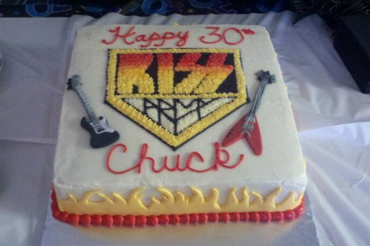 31 Best Kiss Birthday Party Images On Pinterest Kiss