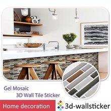 Waterproof self adhesive wall tiles