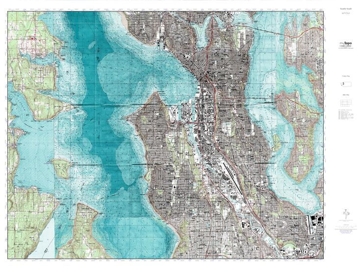 image result for topographic map of washington grid wa pinterest