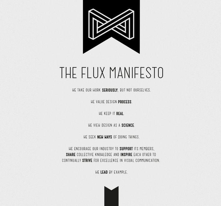FluxManifesto V3 941x878 Typography Design