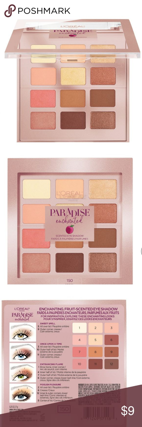 Paradise Enchanted scented eyeshadow palette 150