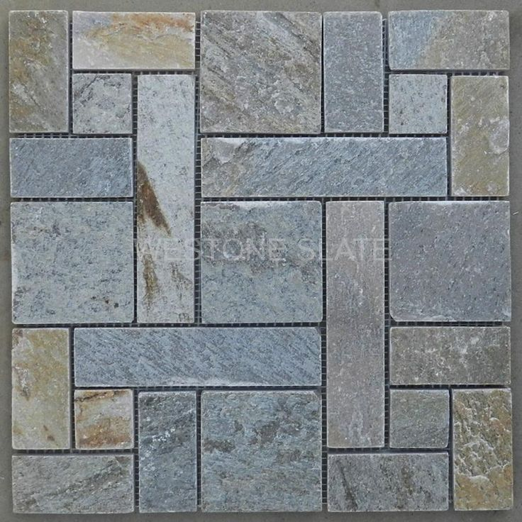 Slate Mosaic Tiles For Backsplash And Bathroom Westone