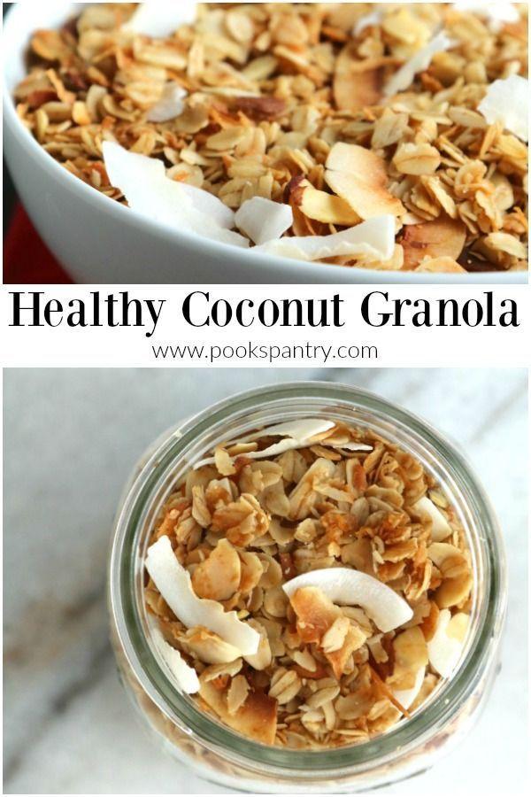 Healthy Granola Recipe Food Recipes Food Granola