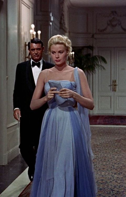 Grace Kelly & Cary Grant in 'To Catch a Thief', 1955.