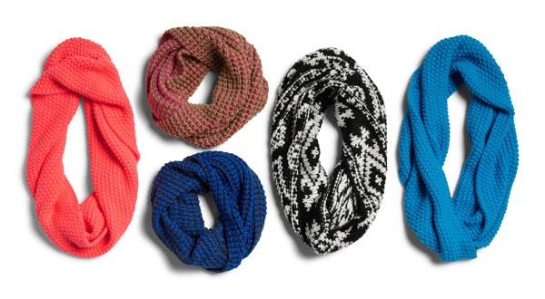 Cowlneck scarves #GapLove