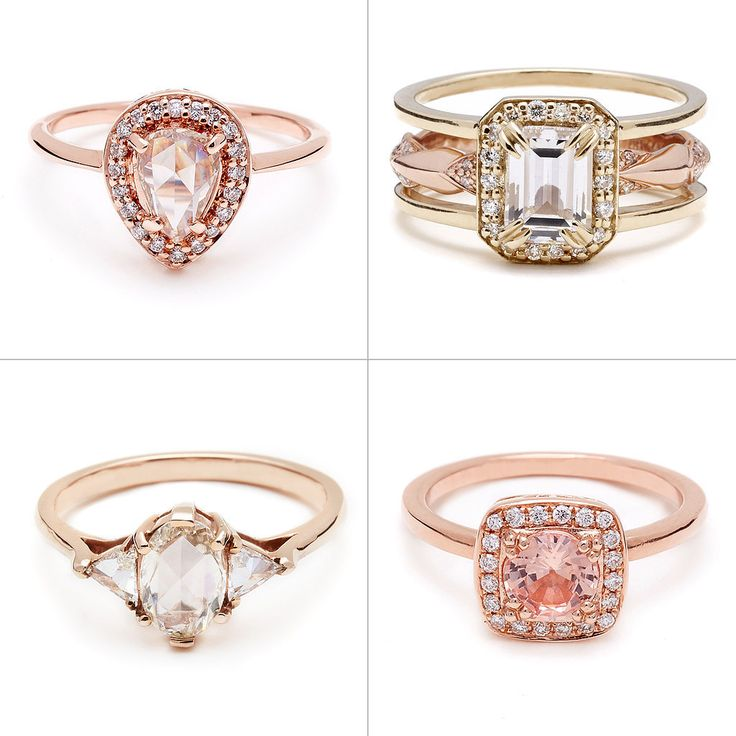 You Might Just Want A Rose Gold Engagement Ring After Seeing These