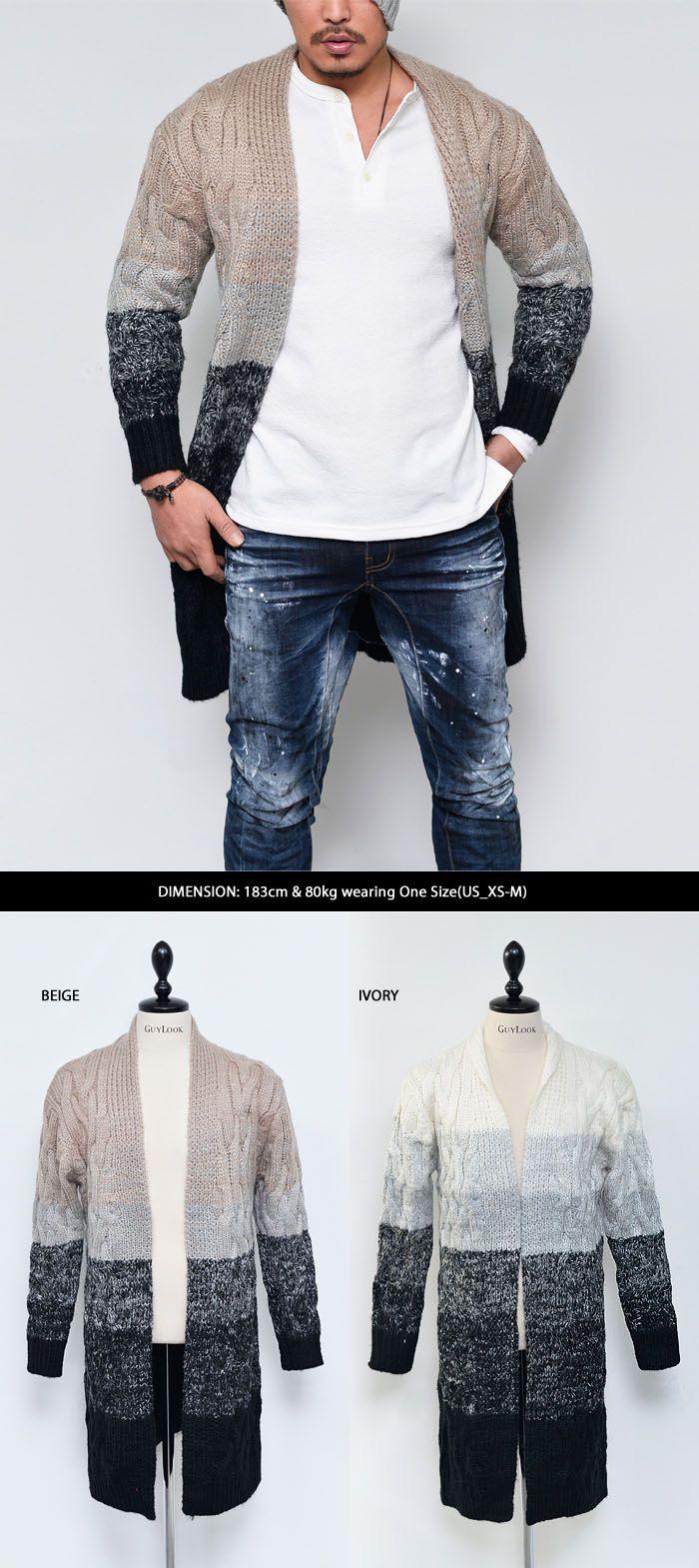 Best 25  Mens knitted cardigan ideas on Pinterest | Men's knits ...