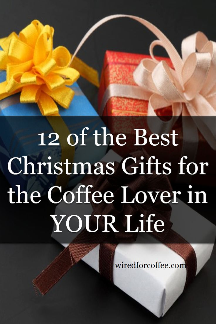 Holidays are just around the corner. Here are some much appreciated gifts for the coffee lover on your list.