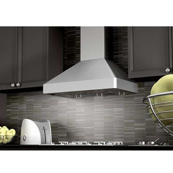 You Ll Love The 30 1200 Cfm Ducted Wall Mount Range Hood At Wayfair Great Deals On All Home Impr Wall Mount Range Hood Stainless Range Hood Kitchen And Bath