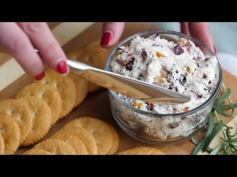 Cranberry Rosemary Cheese Spread – 12 Tomatoes