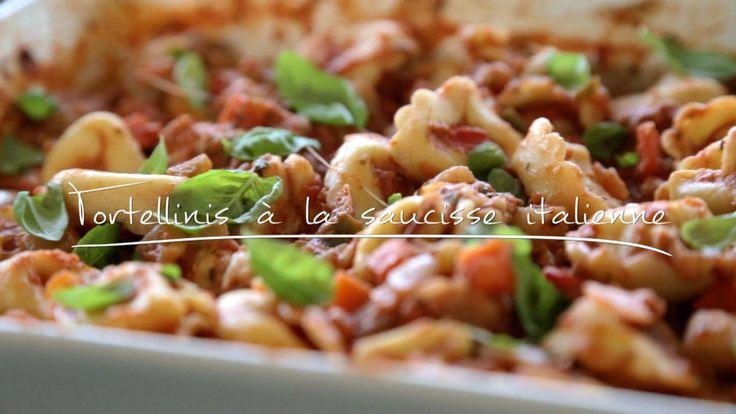 Tortellinis à la saucisse italienne | Cuisine futée, parents pressés
