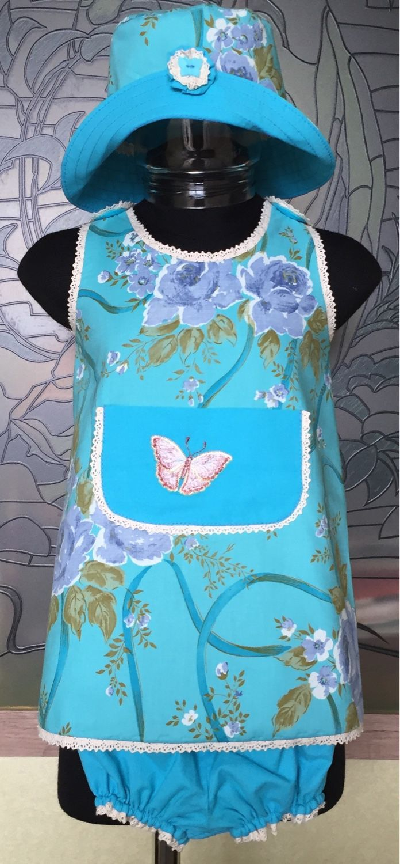 Купить Комплект для летних прогулок малышки - комплект, комплект для девочки, комплект для прогулок, комплект для малышки
