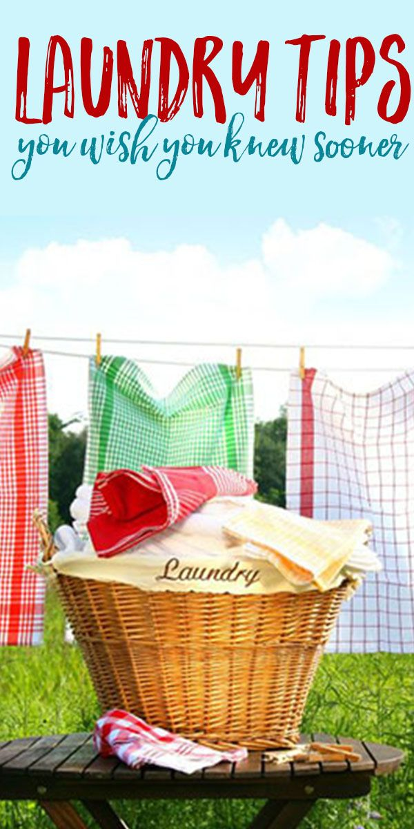 6 Life-Changing Laundry Tips You Wish You Knew Sooner.