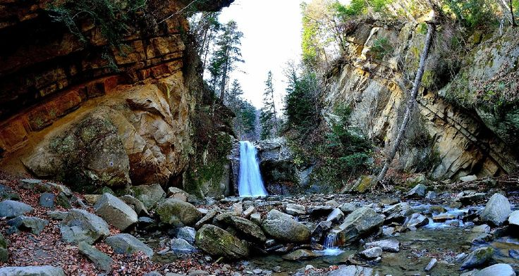 casoca waterfall 2 - buzau county, romania