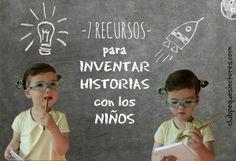 Recopilación de recursos para trabajar la imaginación y la creatividad de los niños a través de un juego muy divertido y con multitud de beneficios: inventar historias                                                                                                                                                     Más