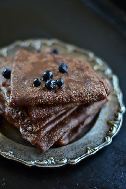 Chocolate crepes by Sandra/Little World, via Flickr