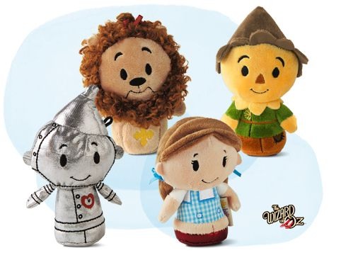 THE WIZARD OF OZ™ itty bittys® available at Hallmark Gold Crown stores. They are sooooo cute!!!! Especially the Tin Man!!!!
