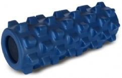 As you roll over the top of the RumbleRoller, the bumps continuously knead the contours of your body, gently stretching soft tissue (muscle and fascia) in multiple directions. This action erodes trigger points, helps restore flexibility, and brings quick relief to common types of muscular pain. By design, the RumbleRoller's bumps are firmer than muscle tissue, but much softer than bone, so they deflect out of the way if they contact your spine or other bony protrusions.