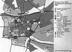 Plan for Warrington town centre
