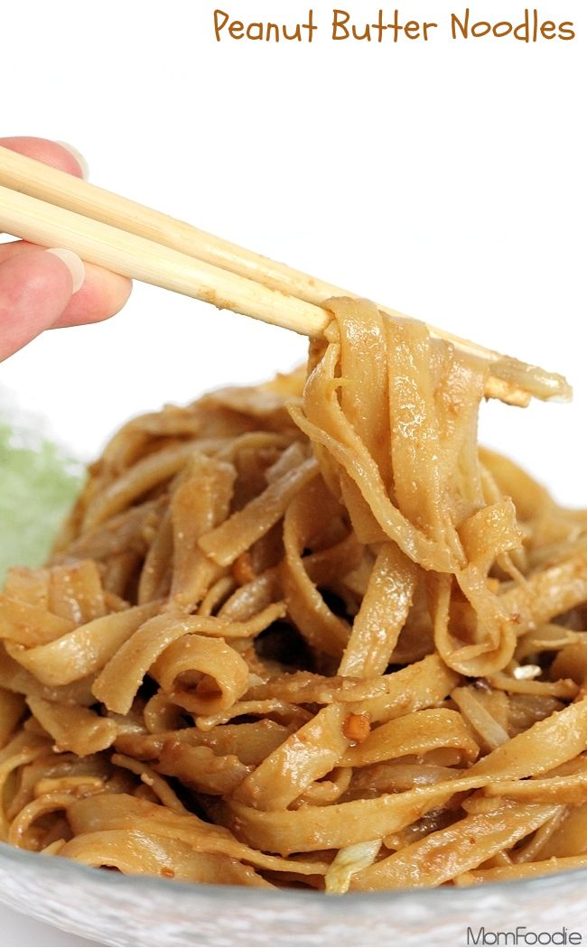Peanut Butter Noodles #recipe  made this one. It's pretty tasty!