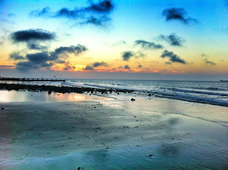 Sunset in Cromer, Norfolk