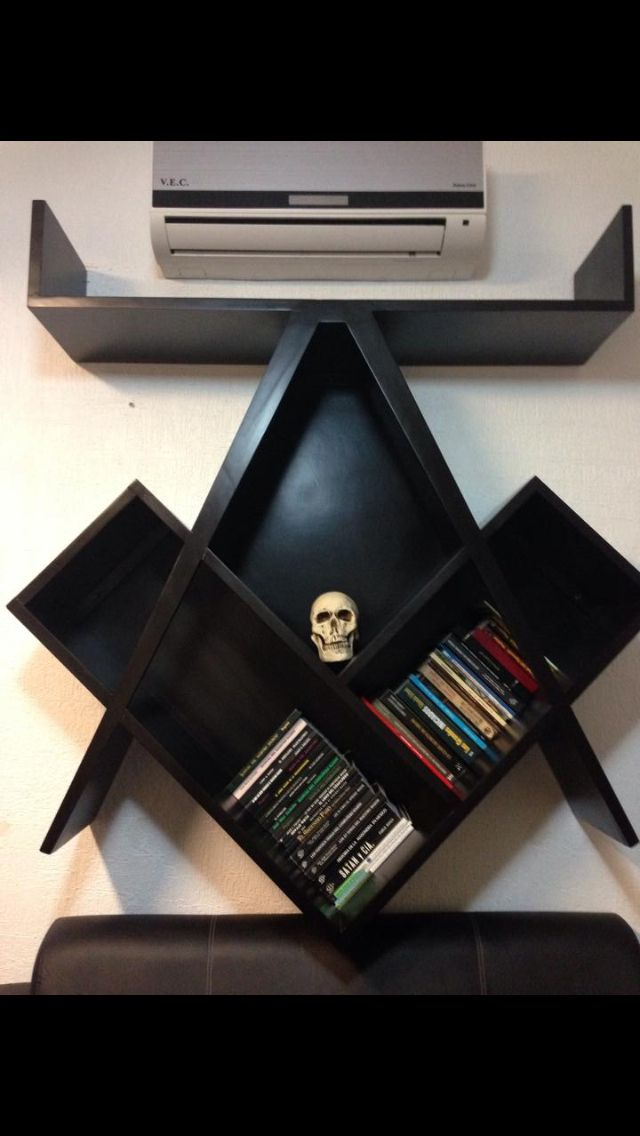 Masonic book case - I really want to make one of these.