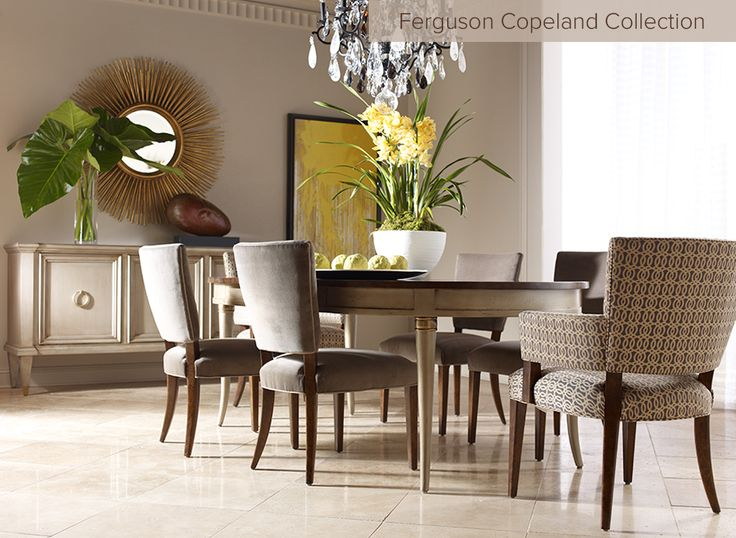 Traditional Upscale Dining Furniture