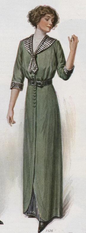 Fabulous Sailor Dress from September 1912....Ladies Home Journal