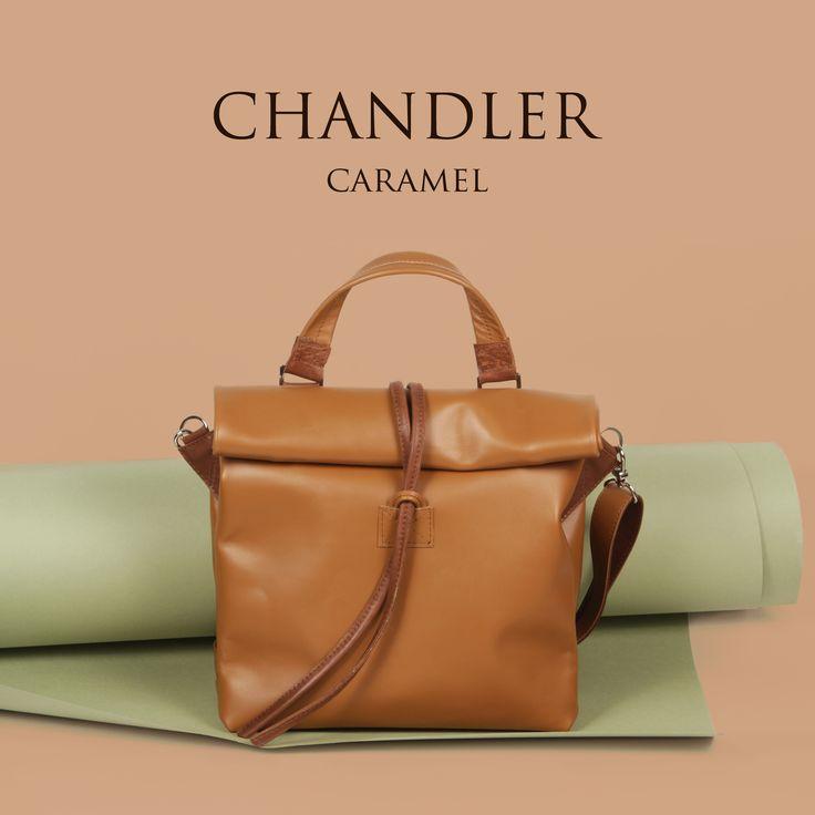 Leather bag Chandler Caramel by A-Rada