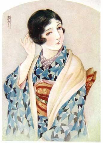 Taisho Romance print