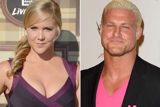 Nick Nemeth (Dolph Ziggler) & former girlfriend Amy Schumer