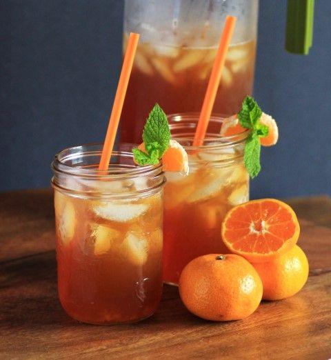 MANDARIN CHAI ICED TEA ☆ a delicious decaf chai tea recipe made with stevia & a twist of citrus. ♡ #Tumblr #Tea #ChaiTea #Recipe