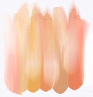 These are exactly the accent colors i love.  peach, blush, champagne, gold, etc.  they look like the inside of a sea shell.