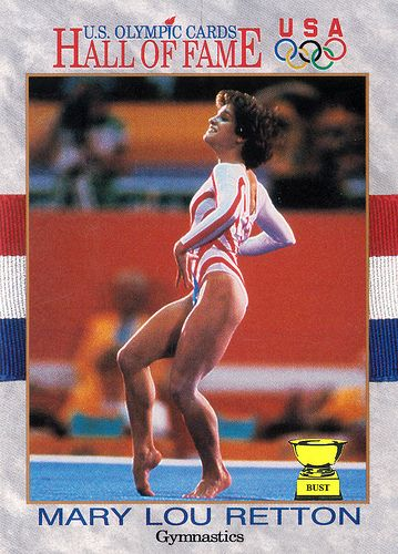 Mary Lou Retton, 1991 U.S. Olympic Cards (Summer Olympics Special ...