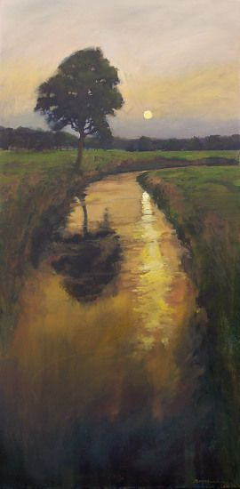 Jan Schmuckal  Tonalist Impressionist Artist | Original oil on canvas