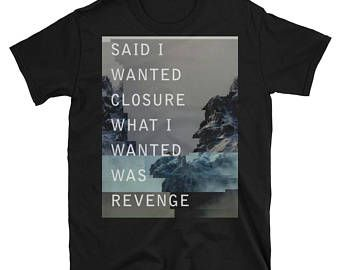vaporwave shirt, cyberpunk clothing, aesthetic clothing, glitch art, soft grunge shirt, pastel goth shirt, 90s, retro, Said I Wanted Closure