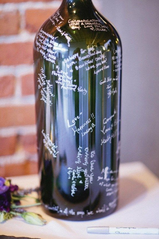 "Wedding Guest ""Book"" Ideas 