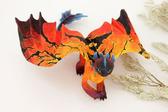 Avatar inspired Toothless Night Fury Dragon by DemiurgusDreams