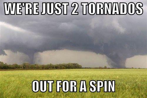 Weather pun