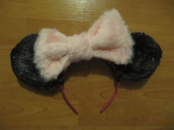 Minnie mouse ears headand