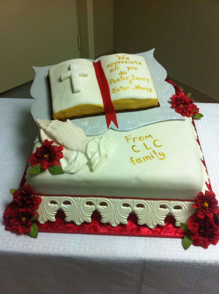 17 Best images about Cakes: Pastor Appreciation on ...