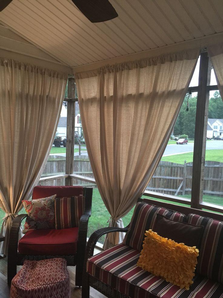 Best 10 Porch Curtains Ideas On Pinterest Patio