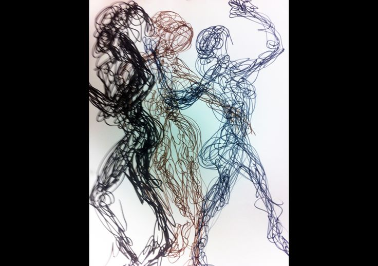 moving figures in art - Google Search